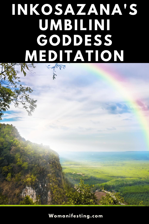 iNkosazana Umbilini Goddess Meditation Chakras