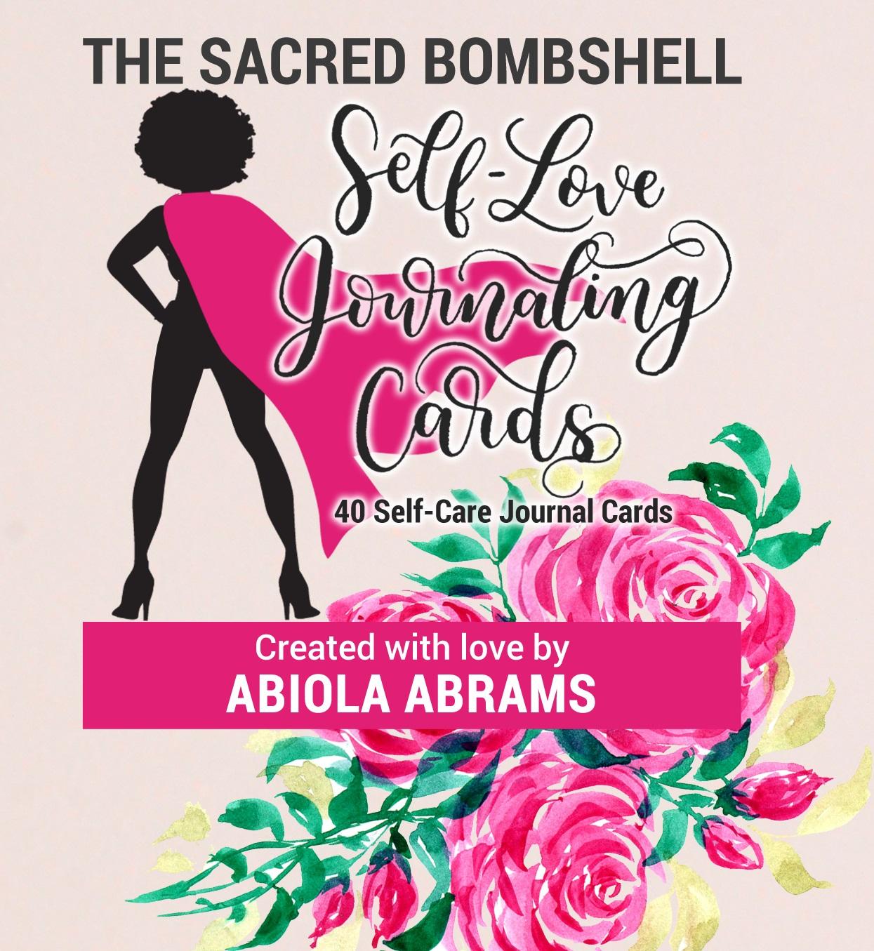 Sacred Bombshell Self-Love Journal Cards