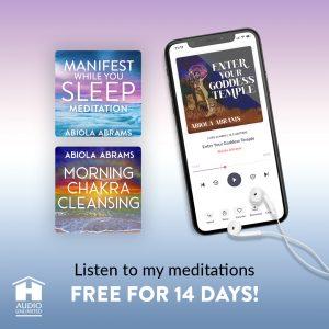 Hay House Unlimited App - Goddess Temple Meditation Program by Abiola Abrams