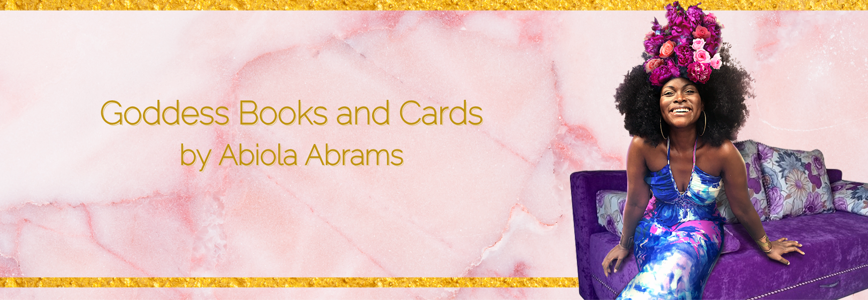 Goddess Books and Cards by Abiola Abrams