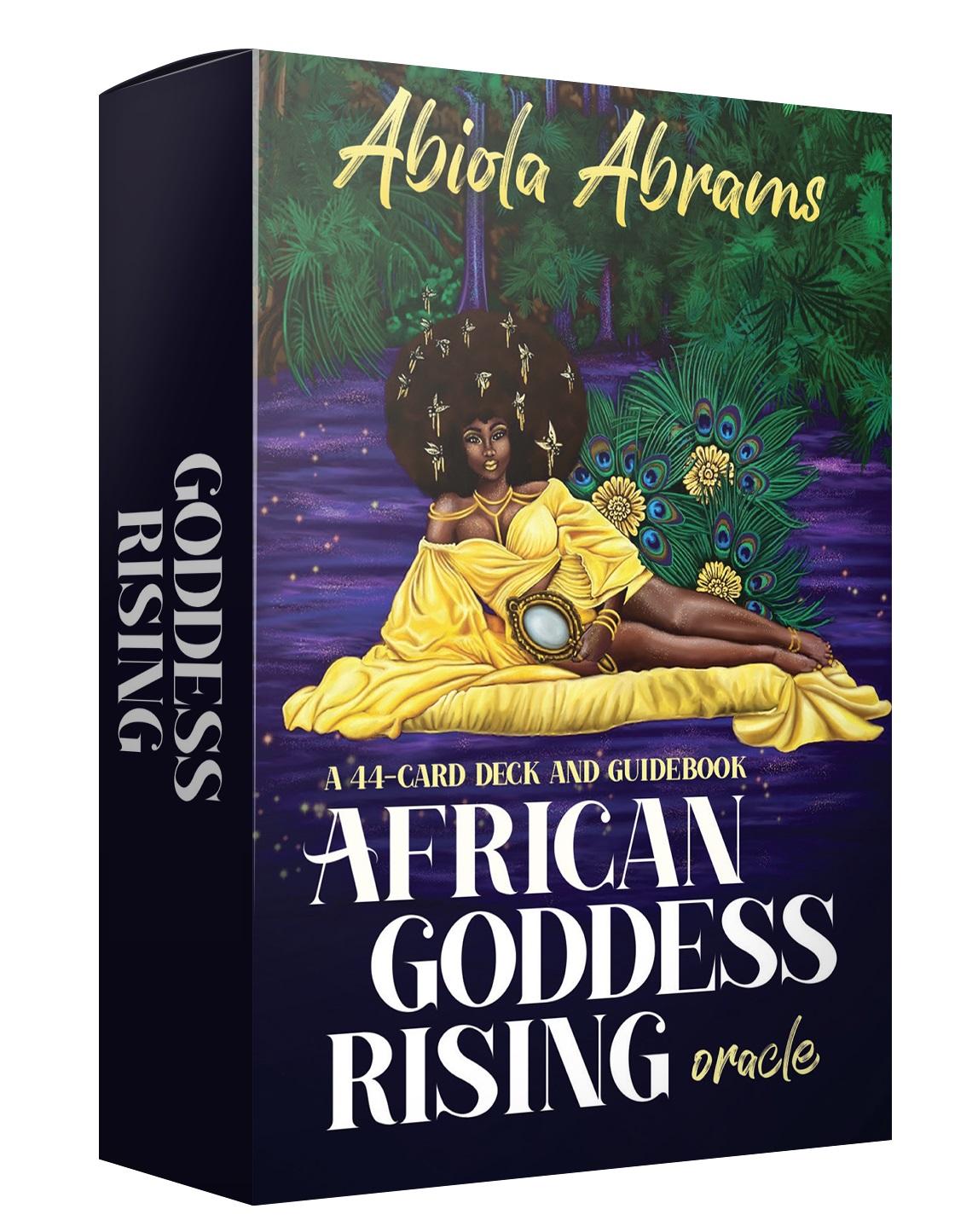 African Goddess Rising Cards