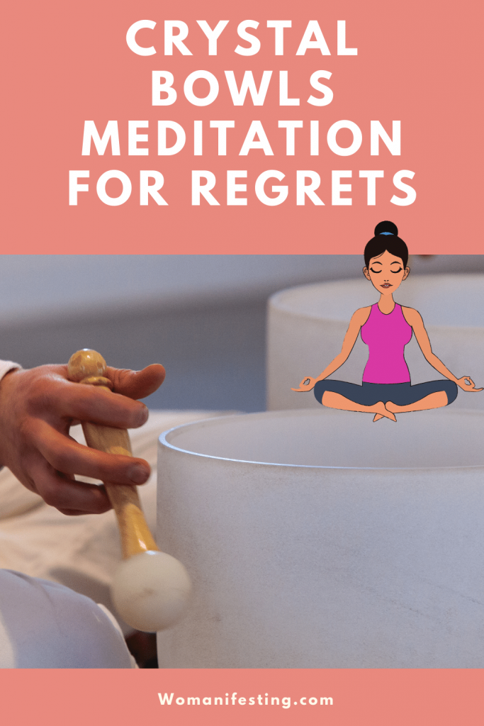 Crystal Bowl Sound Healing Meditation for Worry, Regrets and Anxiety