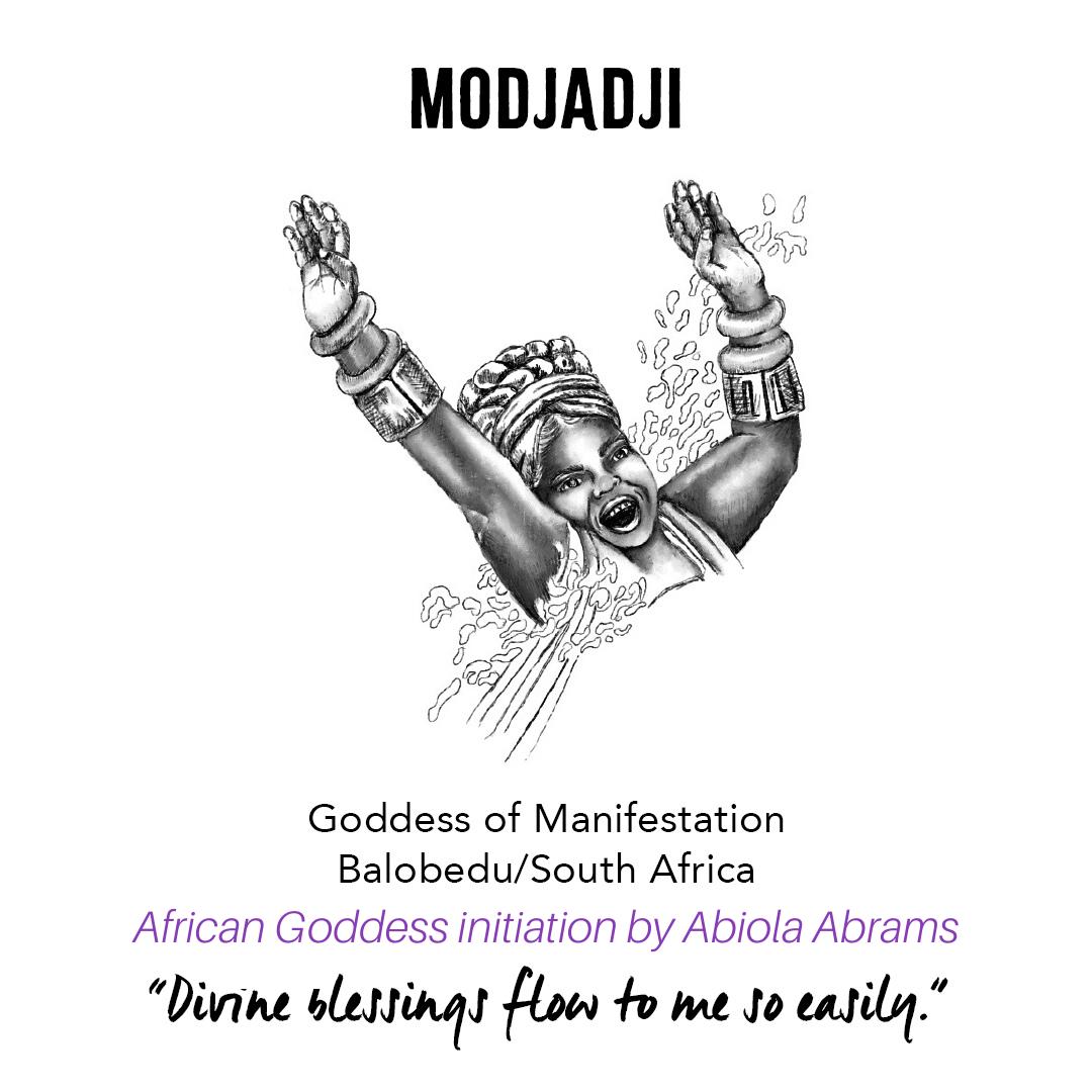 Rain Goddess Modjadji: African Goddess Initiation: Sacred Rituals for Self-Love, Prosperity and Joy