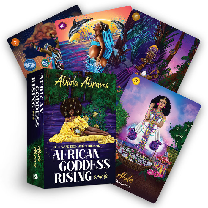 African Goddess Rising Oracle Cards