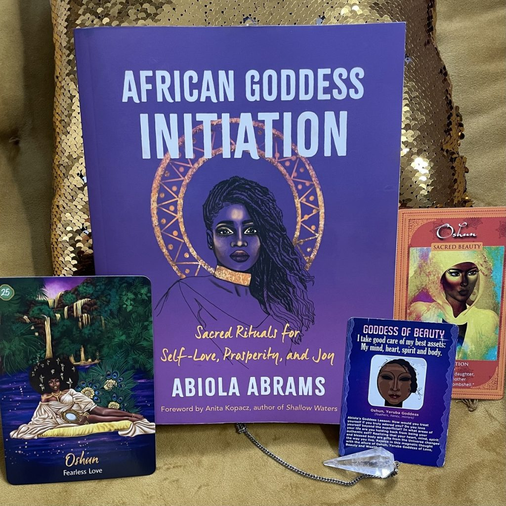 Oshun Oracle Cards by Abiola Abrams