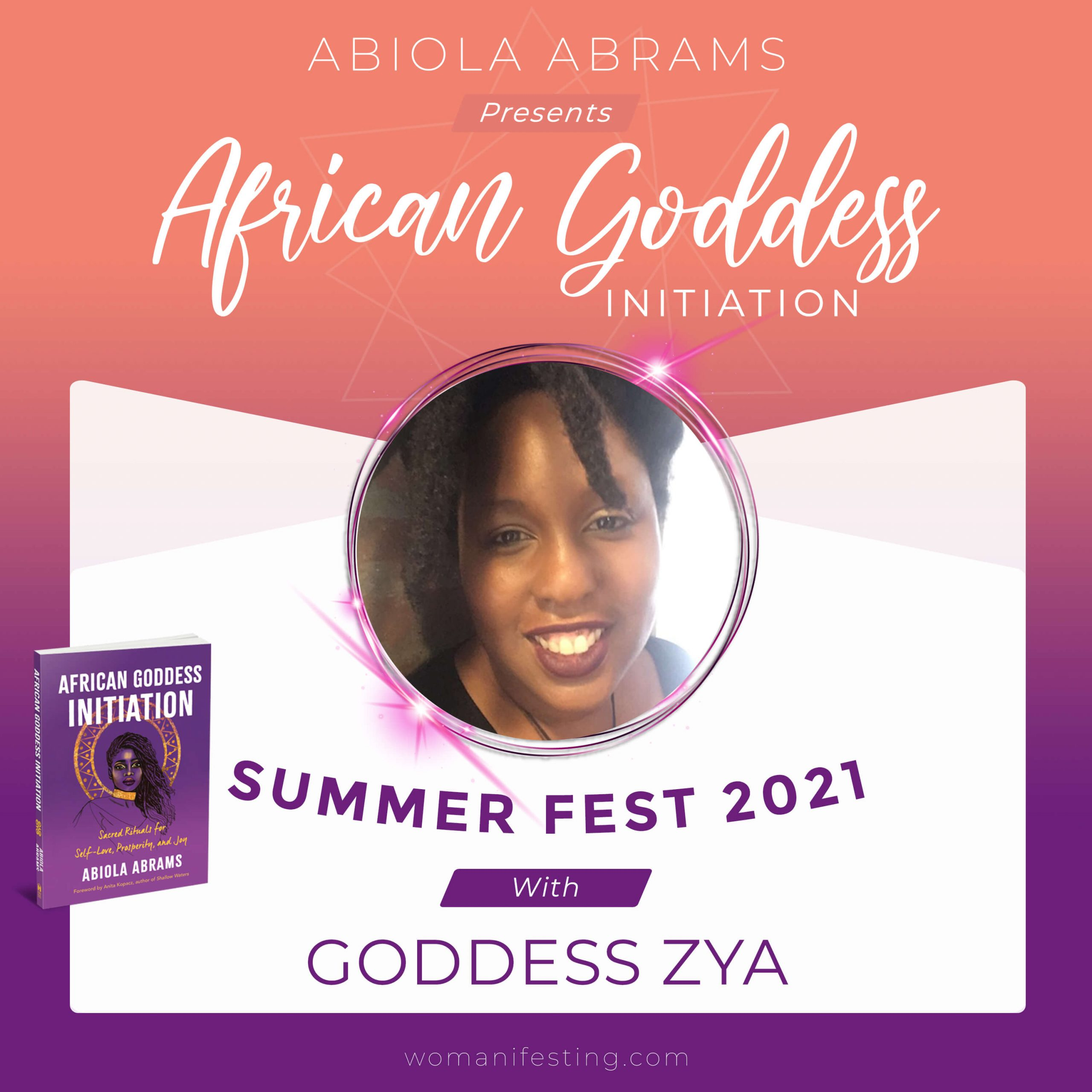 Goddess Zya: African Goddess Initiation Fest Guru