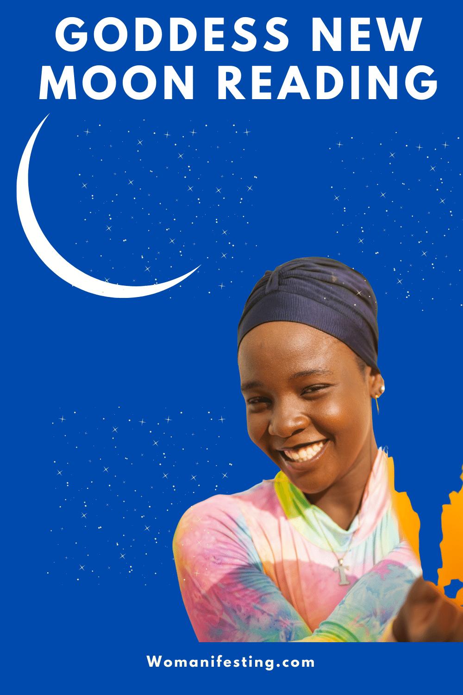 Goddess New Moon Energy Reading