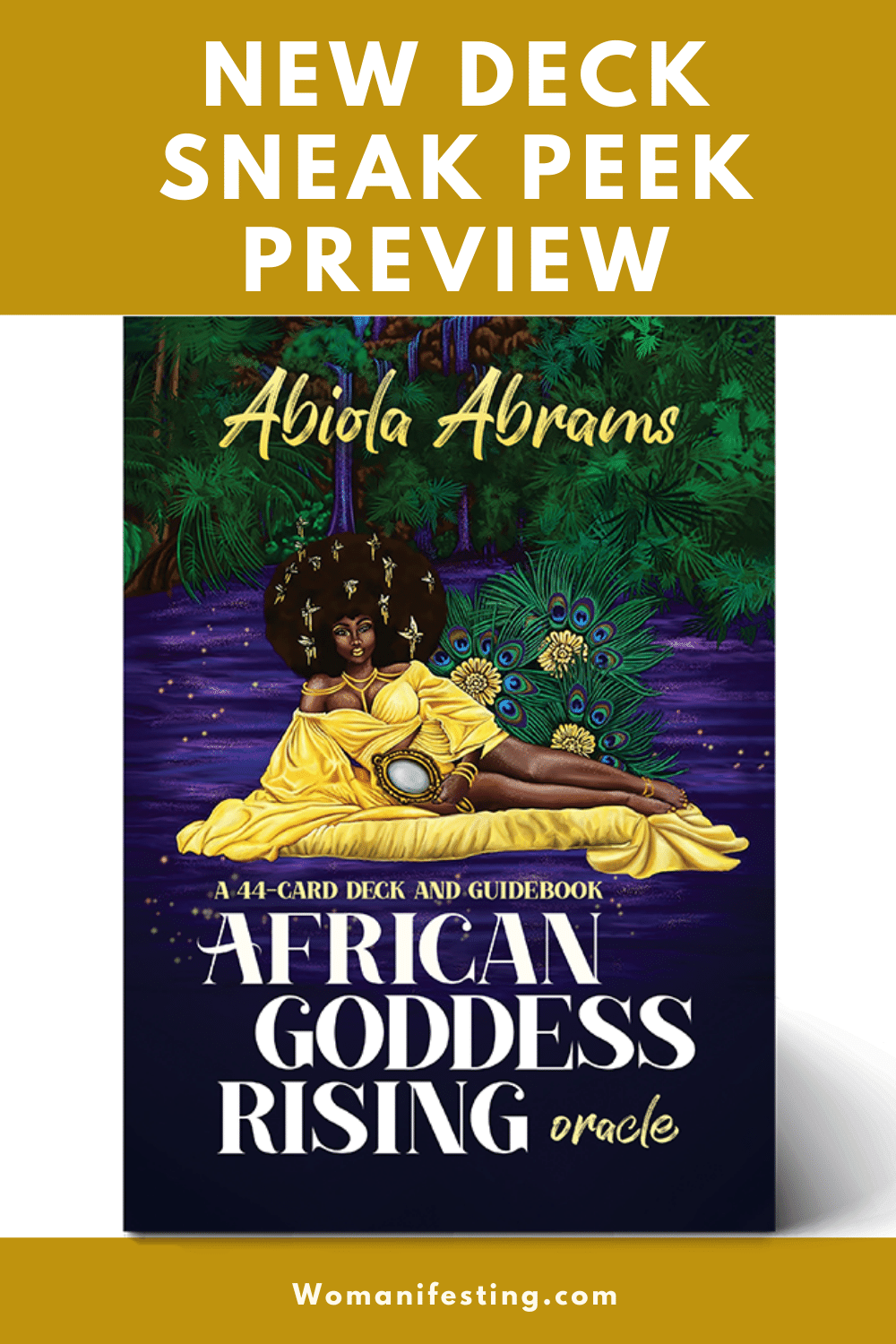 New Deck Preview: African Goddess Oracle Cards Coming Soon from Hay House [Photo Diary]