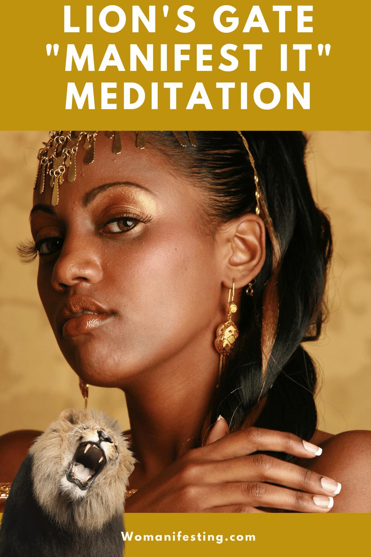 Manifesting Meditation: Lion's Gate Portal & Leo New Moon [Video]