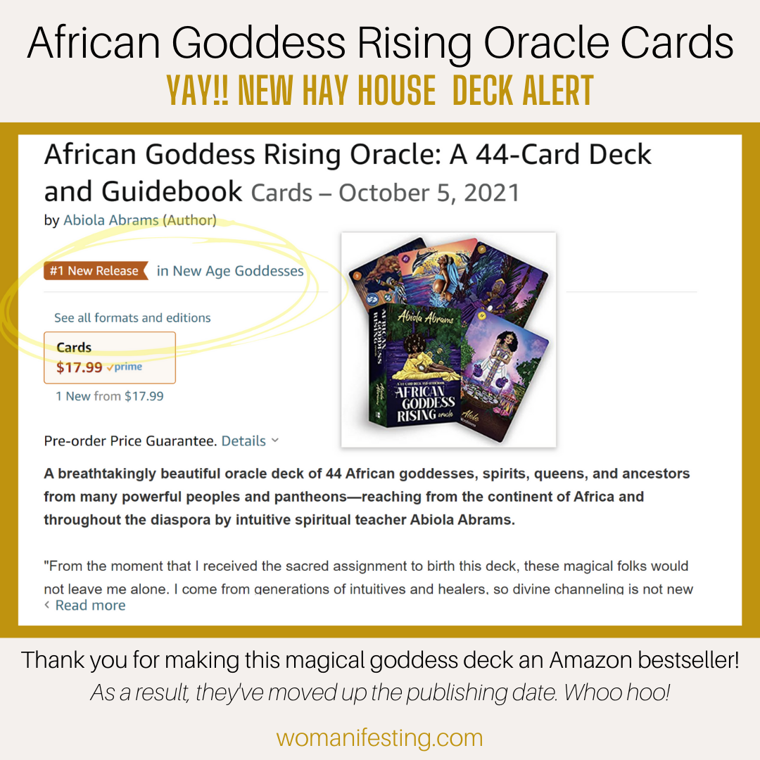 African Goddess Rising Oracle Cards #1