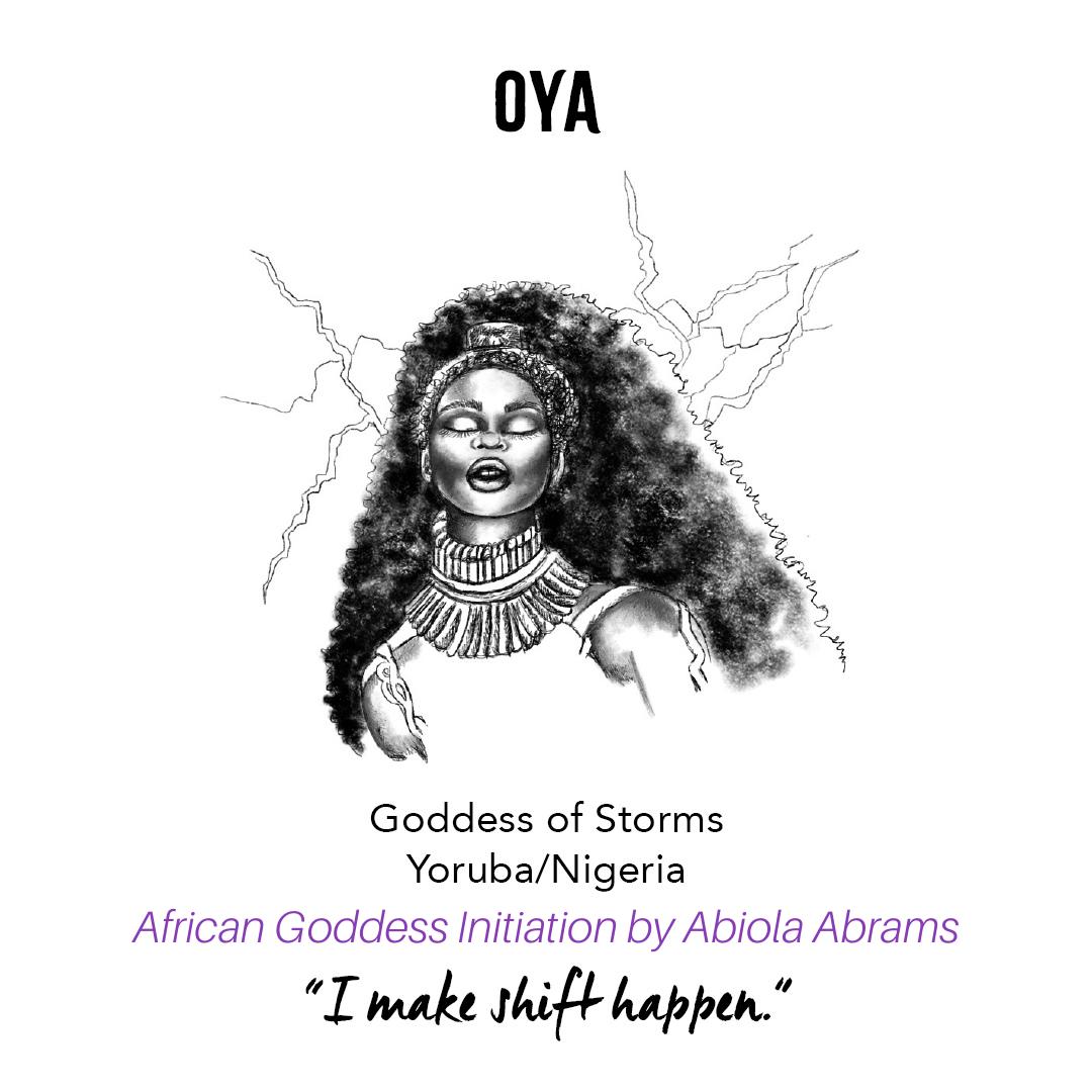 Yoruba Orisha Oya: African Goddess Initiation: Sacred Rituals for Self-Love, Prosperity and Joy