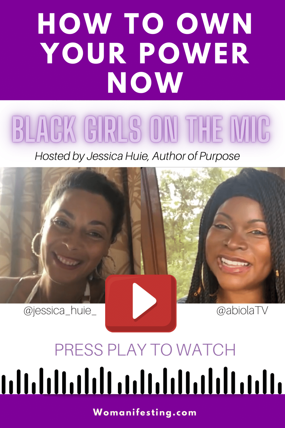 Jessica Huie, Hay House Author of Purpose, Interviews Me for 'Black Women on the Mic' [Video]