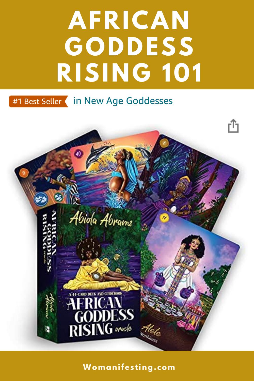 African Goddess Rising Oracle Deck: First Half Deck Flip Through  [Video]