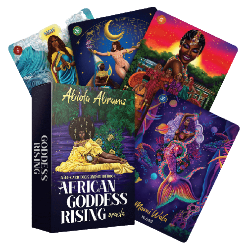 Reading Oracle Card Spreads: African Goddess Rising Oracle Cards [Video]