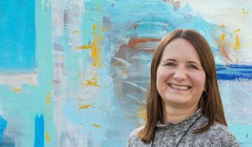 «Kunstprat» med Heidi Vestby