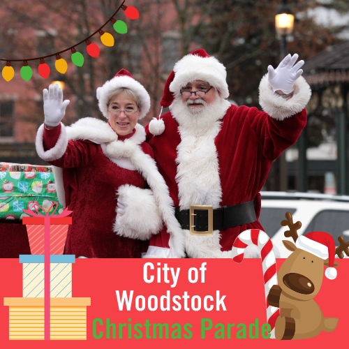 Annual Woodstock Christmas Parade