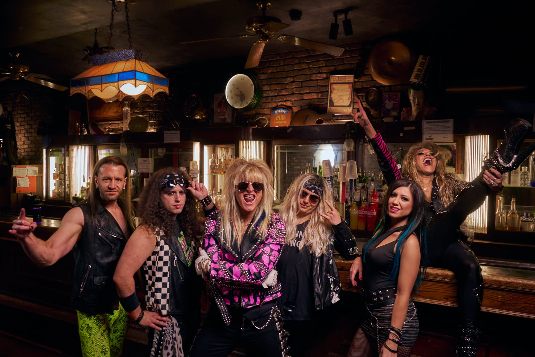 Rockstock Presents Scare on the Square and Hairbangers Ball