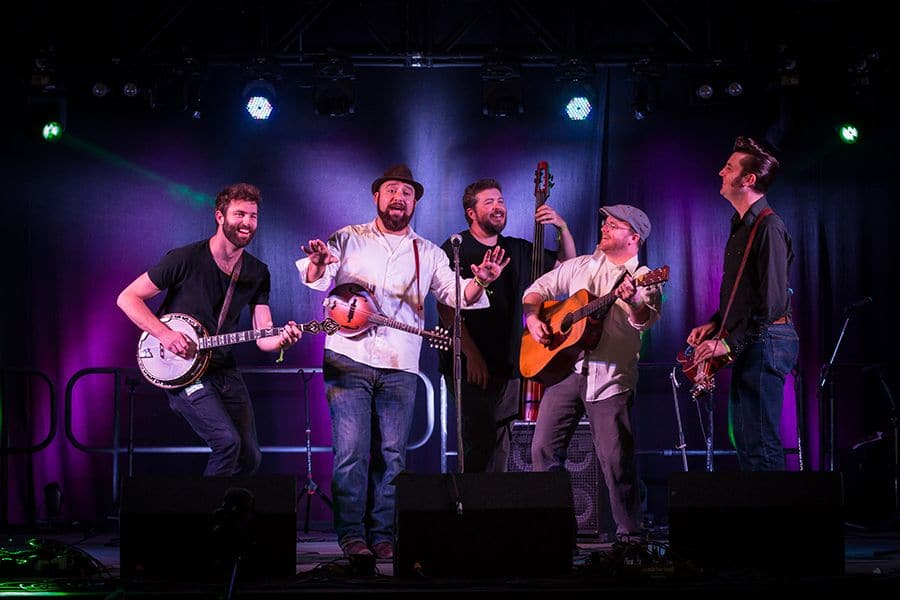 The HillBenders – WhoGrass at the Woodstock Opera House
