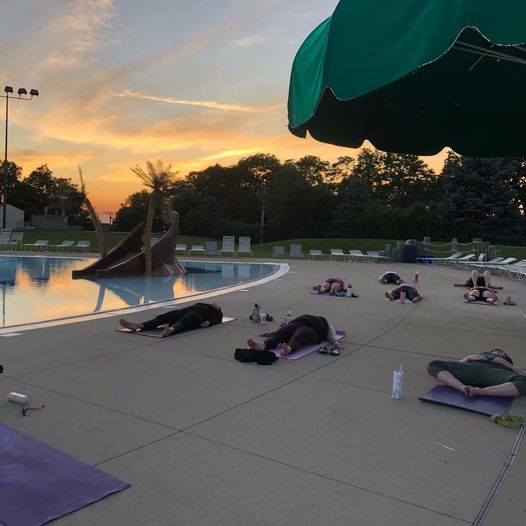 Sunset Yoga at Woodstock Water Works