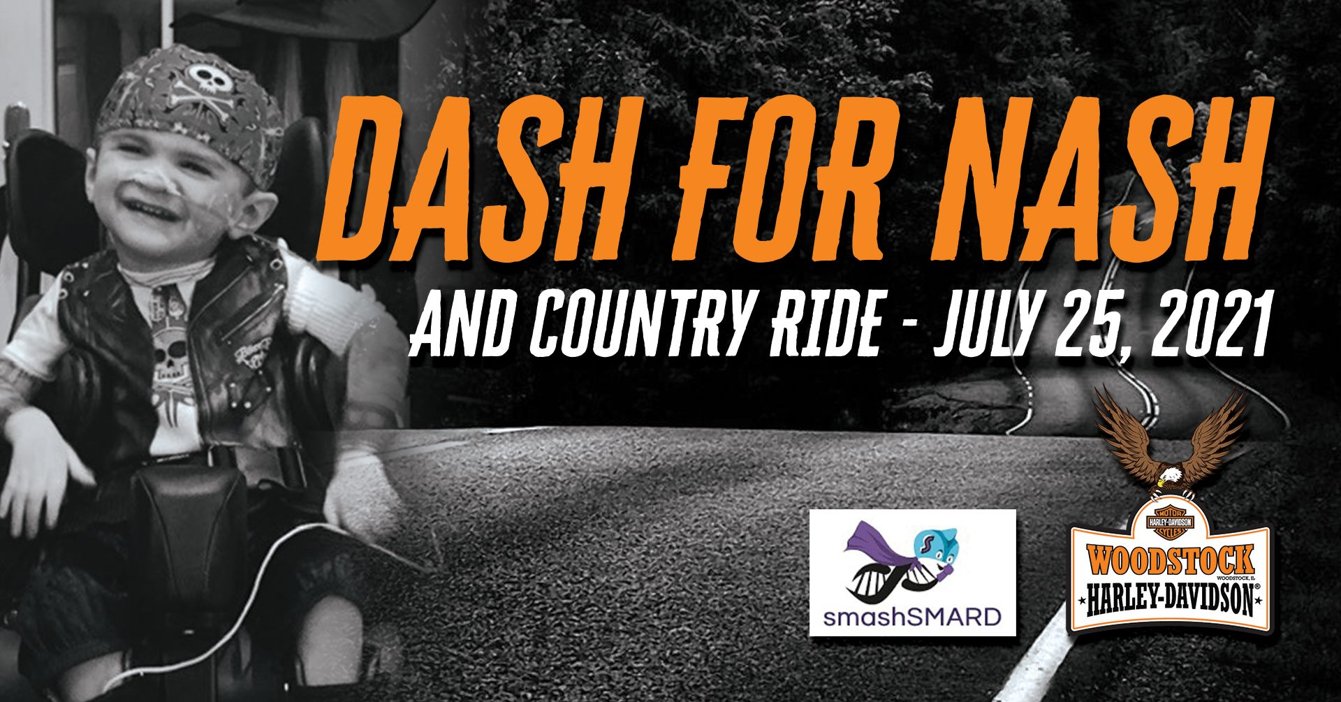 Dash '4' Nash Ride & After Party with Woodstock Harley and Niko's Red Mill
