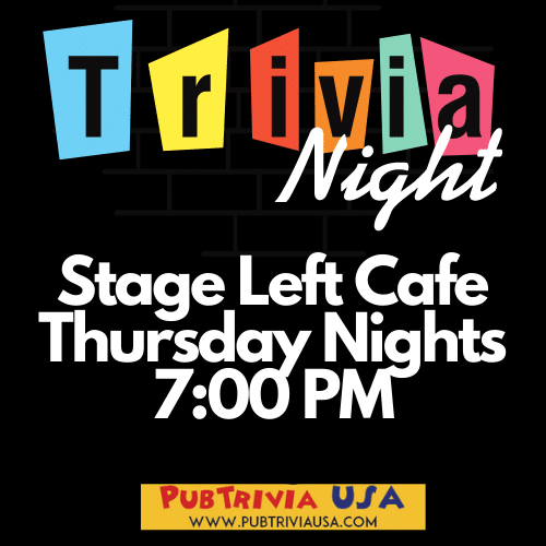 Stage Left Cafe – Trivia Night