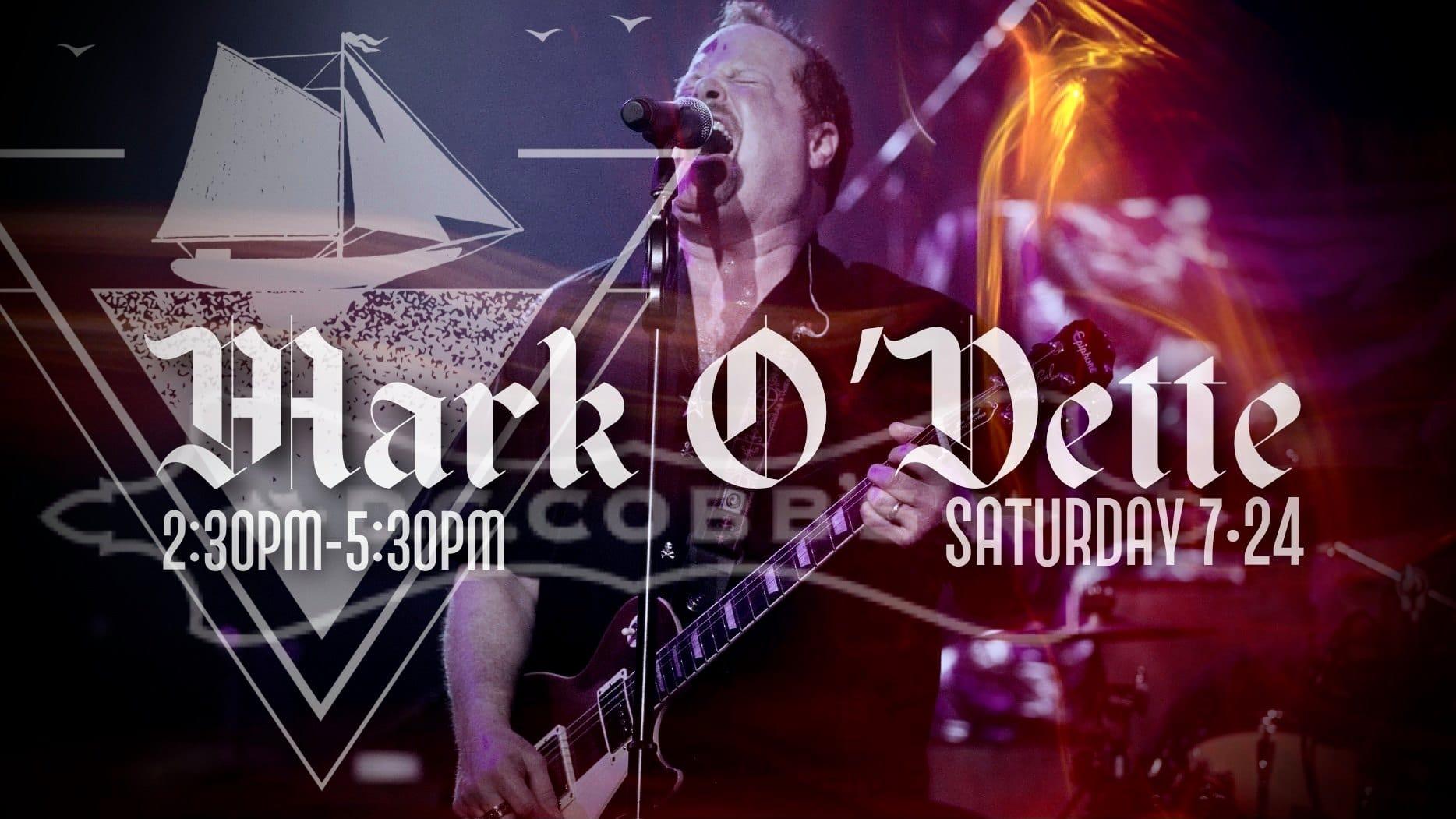 Mark O'Dette – Simply Yacht Rock outside D.C. Cobbs on Benton Street