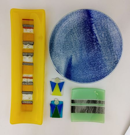 """Material Things """"Fused Glass Class II"""""""