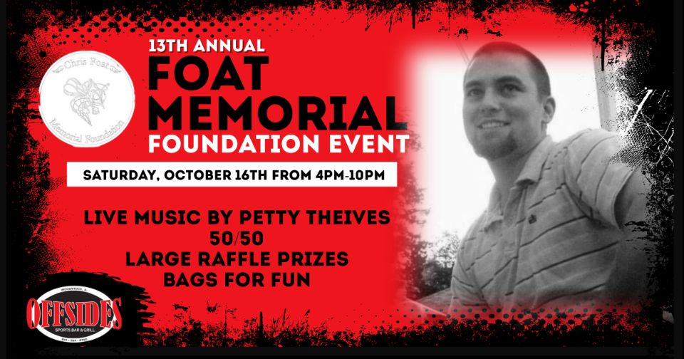 13th Annual Foat Memorial Foundation Event – LIVE MUSIC at Offsides