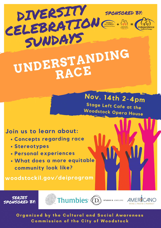 Diversity Celebration Sundays: Understanding Race