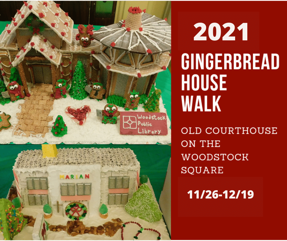 Friends of the Old Courthouse's 2021 Gingerbread House Walk