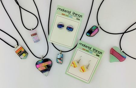 """Material Things """"Fused Glass Class I"""""""
