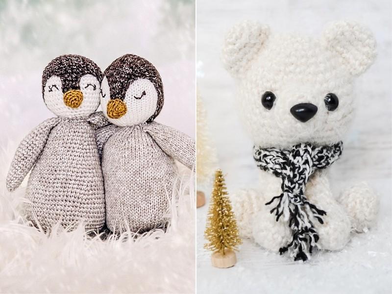 Winter Amigurumi Free Crochet Patterns