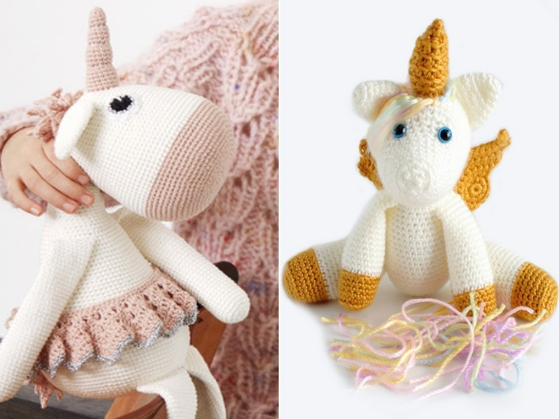 Fantastic Unicorns Free Crochet Patterns