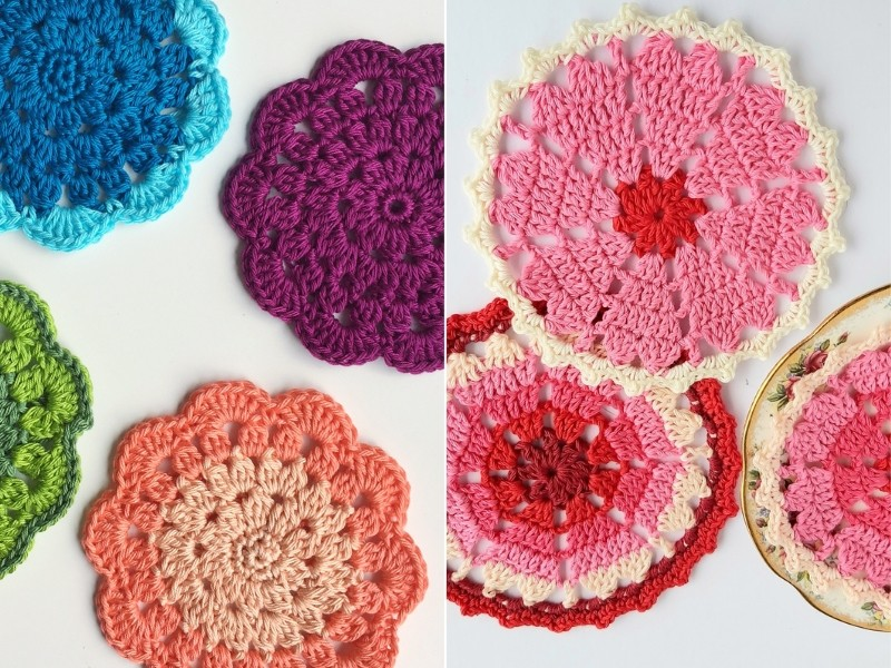 Best Crochet Coasters Free Patterns