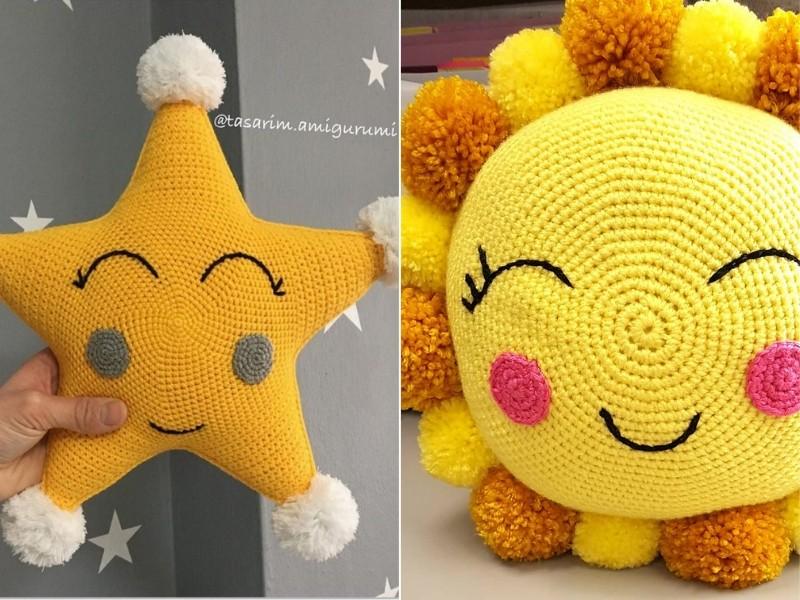 Shining Pillows Free Crochet Pattern