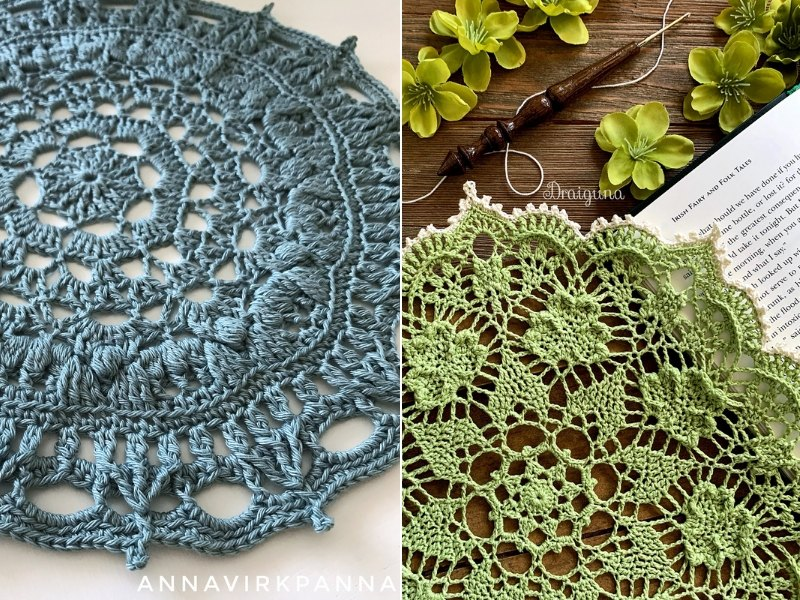 St. Patrick's Doilies Free Crochet Patterns