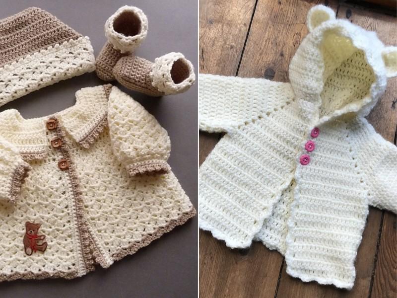 Crochet Baby Cardigans Free Patterns