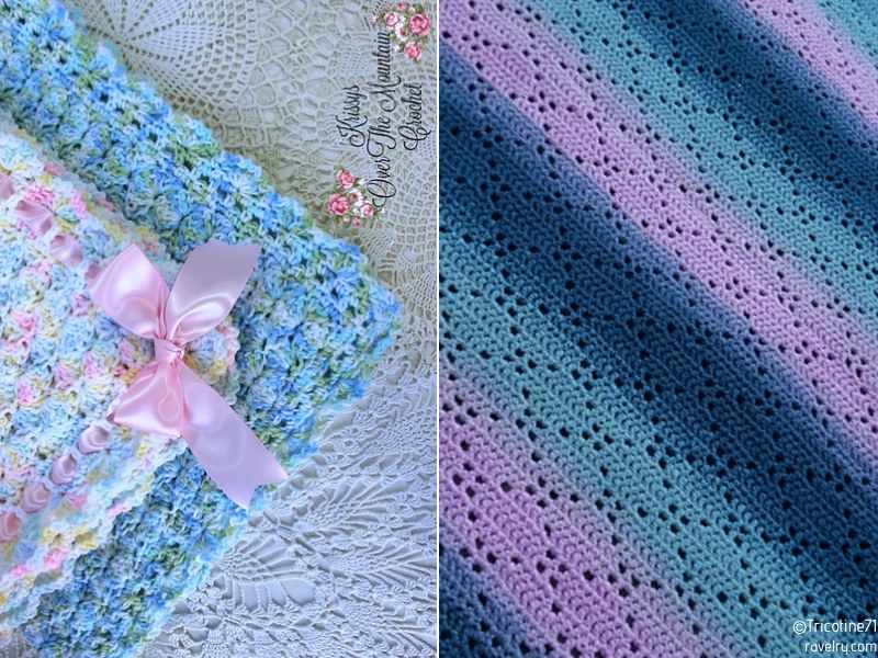 Cheerful Baby Blankets Free Crochet Patterns