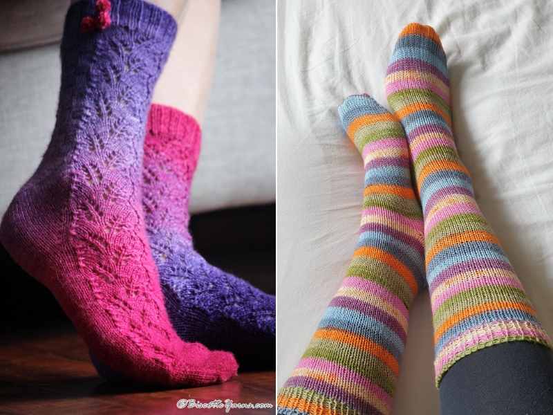 Cool Knitted Socks Free Patterns