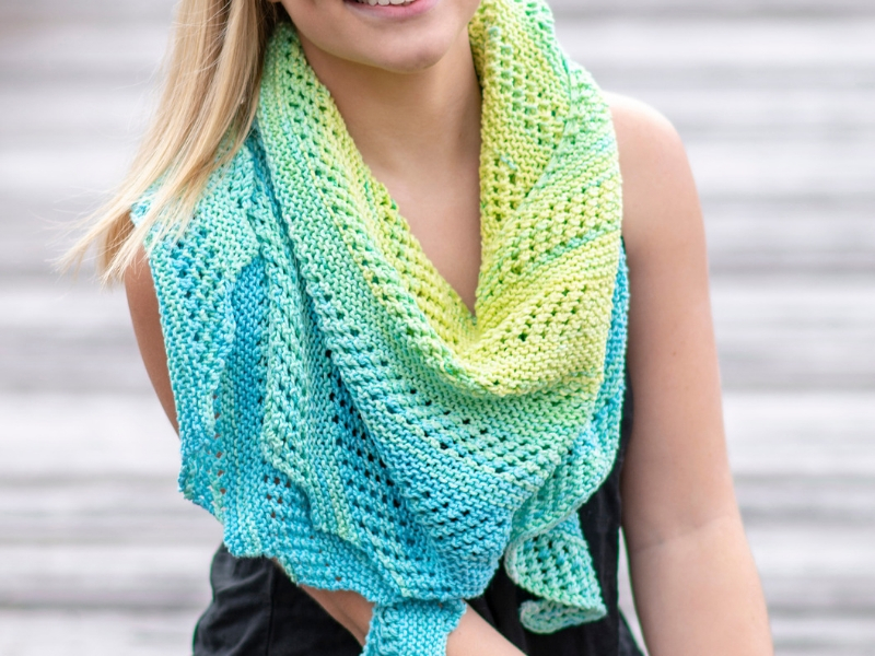 Waimea Shawl Free Knitting Pattern