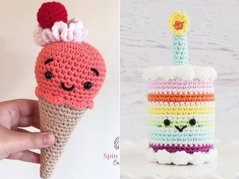 Amigurumi Sweets Free Crochet Patterns