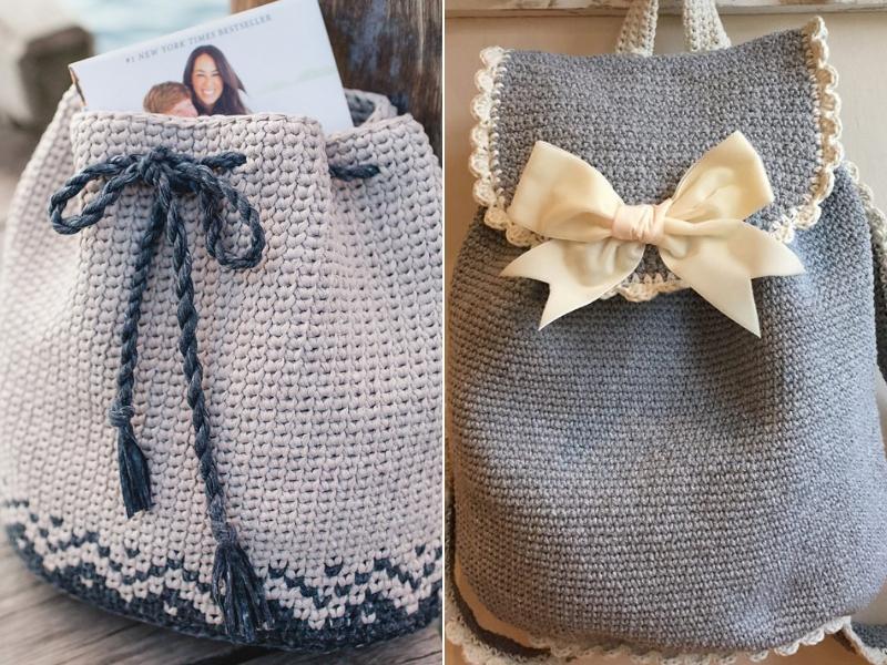 Crochet Backpacks For Summer Free Patterns