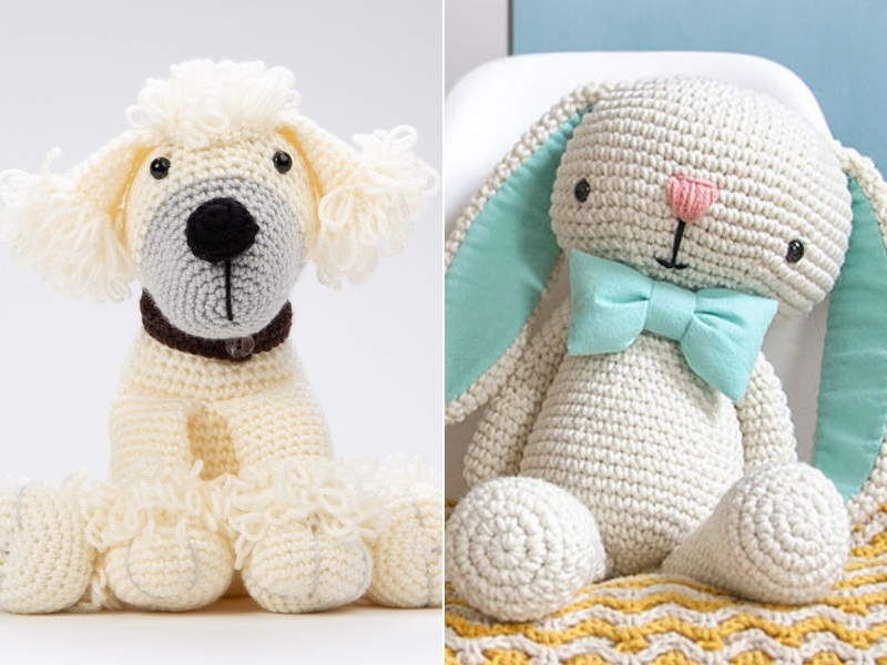 White Yarn Amigurumi Ideas Free Crochet Patterns