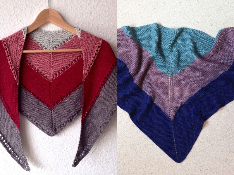 Easy Knitted Shawls Free Patterns