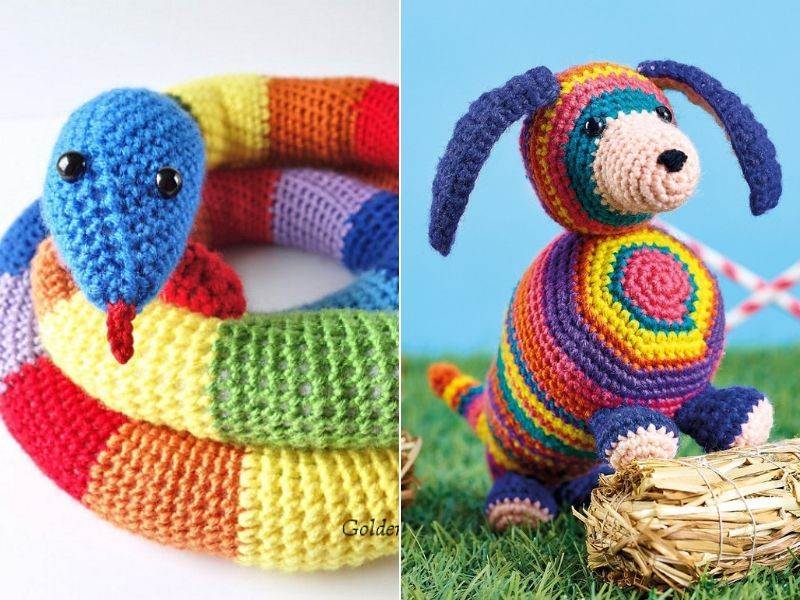 A to Z Challenge: F is for FREE PATTERN! Amigurumi Snake – Ink & Stitches   600x800