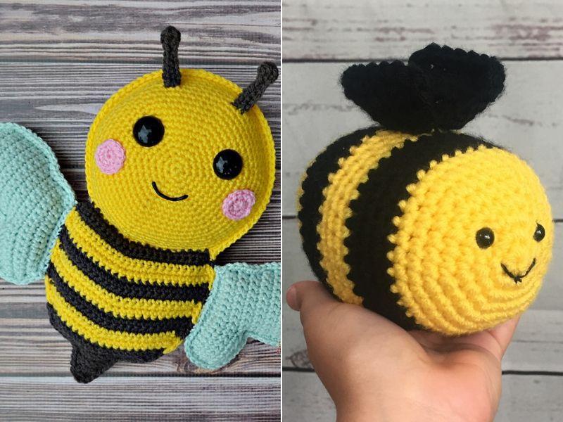 Busy Bee Amigurumi Free Crochet Patterns