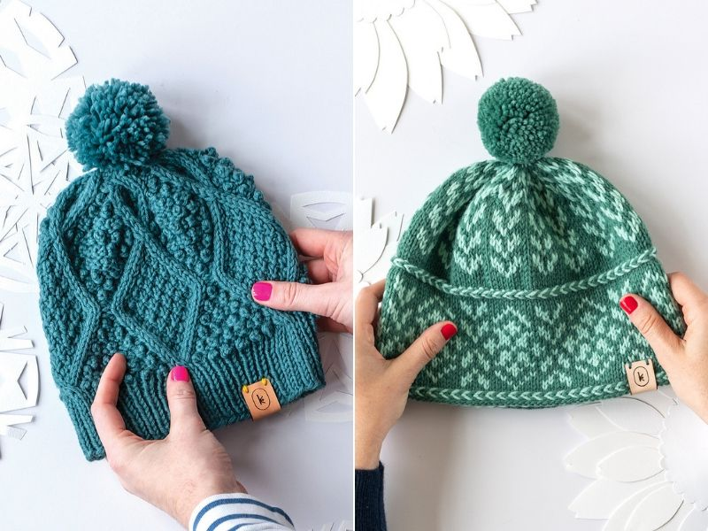 Comfy Knitted Hats