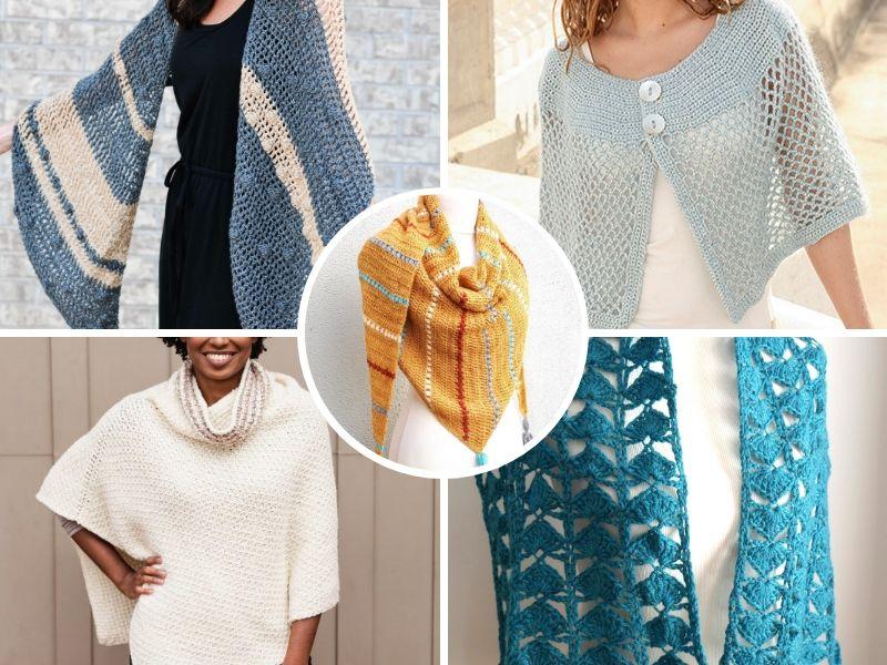 Great Crochet Wraps