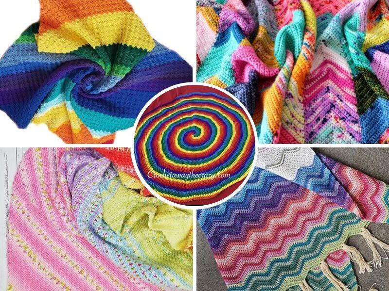 Fabulous Rainbow Blankets