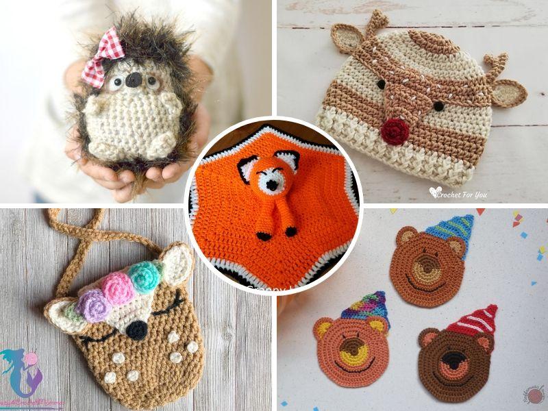 Free Patterns Woodland Animals Crochet Ideas